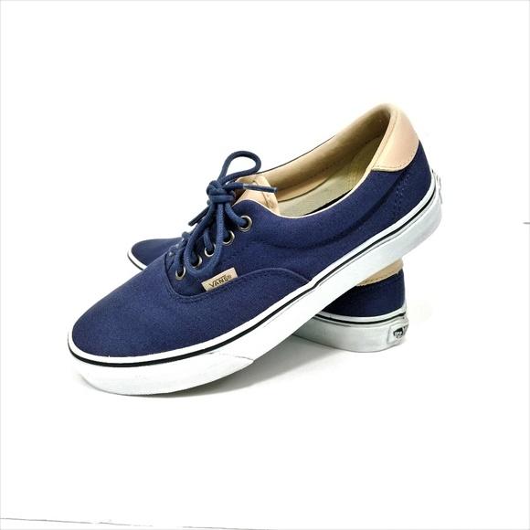 Vans Navy Era 59 Sneakers Skate Shoes 003d16cbb6a2